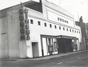 Kemp Town Odeon cinema in St George's Road Brighton.