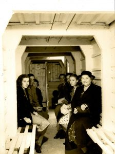 Air raid shelter at St John's School Carlton Hill Brighton.