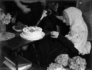 Happy Birthday Miss Davey aged 108 on 8 June 1940!