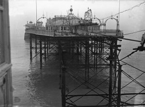Palace Pier Brighton, 7 April 1945