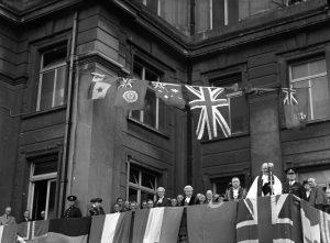 V.E. Day Proclamation Brighton, 12 May 1945