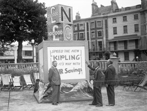 Photograph of The Brighton Warship Effort, taken at the Royal Pavilion, 4 July 1942.